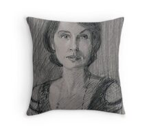 "Lady Mary Josephine Crawley ""Downton Abbey"" Throw Pillow"