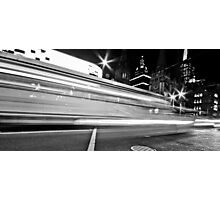 """Melbourne Black II"" Photographic Print"