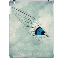 Build Your Wings iPad Case/Skin