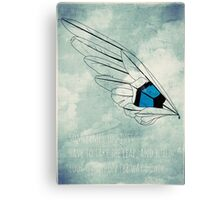 Build Your Wings Canvas Print