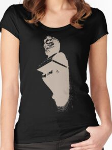Powerful Bust Negatif Women's Fitted Scoop T-Shirt