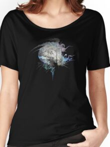 Final Fantasy XIII logo grunge Women's Relaxed Fit T-Shirt