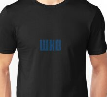WHO Unisex T-Shirt