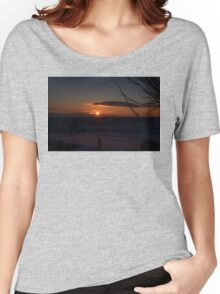 Snowy Yorkshire Sunrise Women's Relaxed Fit T-Shirt