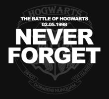 Never Forget the Battle of Hogwarts (Harry Potter) by RWHTL