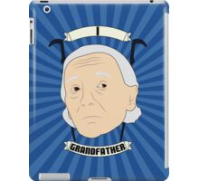 Doctor Who Portraits - First Doctor - Grandfather iPad Case/Skin