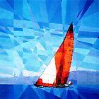 Prismatic Sailing in Malta by Joseph Barbara
