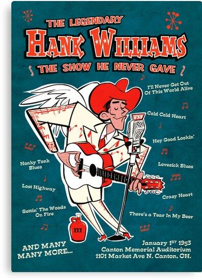 Hank Williams by Daviz Industries