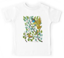 Great Crested Flycatcher Kids Tee