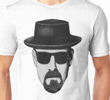 Walter White (Black and White) Unisex T-Shirt