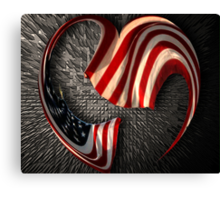 In Our Hearts Forever Canvas Print