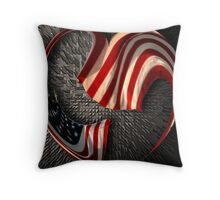 In Our Hearts Forever Throw Pillow