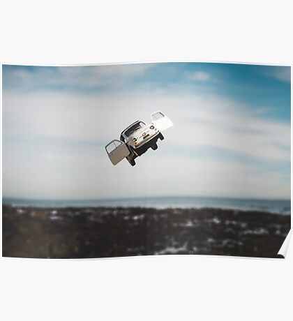 Flying FIAT Poster