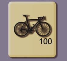 Bike Scrabble Tile by sher00