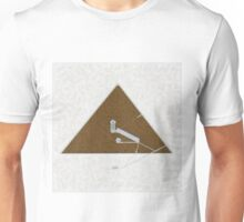 Great Pyramid by Pierre Blanchard Unisex T-Shirt