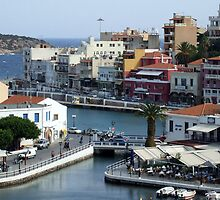 View of the Water Inlet on the Island of Crete in Greece 11 by JaguarJulie