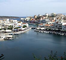 View of the Water Inlet on the Island of Crete in Greece 13 by JaguarJulie