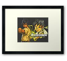 Rindoukan Girl Framed Print