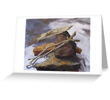 Sticks and Stones #5 Greeting Card