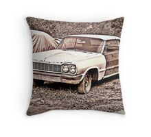 Two Tone Drag Throw Pillow