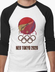 The Olympics Are About to E-X-P-L-O-D-E Men's Baseball ¾ T-Shirt