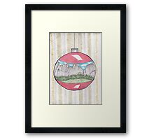 Have A Yosemite Ball For Christmas! Framed Print
