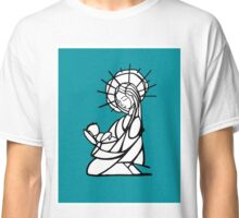 Virgin Mary Illustration Classic T-Shirt