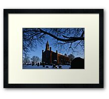 Christ Church Stannington Framed Print