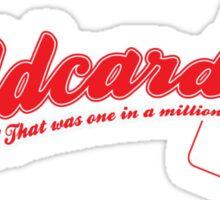 Red 5 Wildcard Sticker