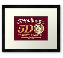 O'Houlihans 5D Training Program Framed Print