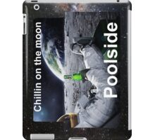 Chillin on the moon. iPad Case/Skin