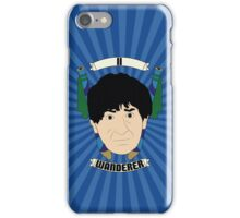 Doctor Who Portraits - Second Doctor - Wanderer iPhone Case/Skin