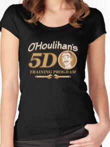 O'Houlihans 5D Training Program Women's Fitted Scoop T-Shirt
