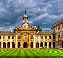 Emma - Cambridge University - England by Mark Tisdale