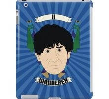Doctor Who Portraits - Second Doctor - Wanderer iPad Case/Skin