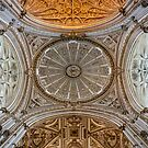 Cathedral Ceiling - Cordoba, Spain by Robert Kelch, M.D.