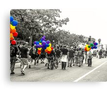 Balloons and Pride Canvas Print