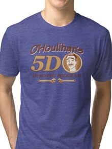 O'Houlihan's 5D Training Program - Dark Tri-blend T-Shirt