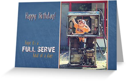 Full Service Birthday Card Greeting Cards By Tracy Friesen