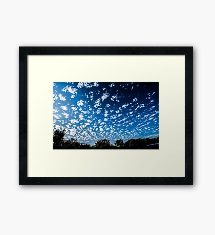 Magnificent Sky and Clouds No 3 Framed Print