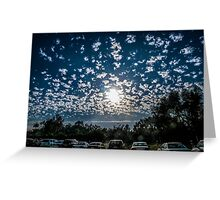 Magnificent Sky and Clouds No 4 Greeting Card