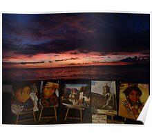pictures of an exhibition - pinturas de una exhibición Poster