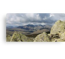 Lake District Landscape Cumbria Canvas Print