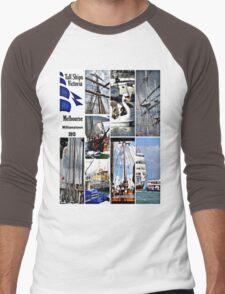Melbourne Festival Men's Baseball ¾ T-Shirt