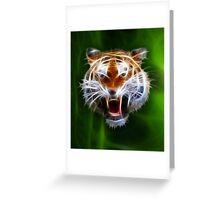 Spirit of the Tiger Greeting Card