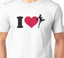 I love Muay Thai Unisex T-Shirt