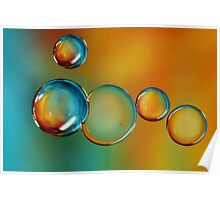 Bubble Drops Poster