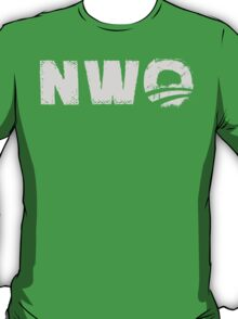 NWO - New World Order parody  T-Shirt