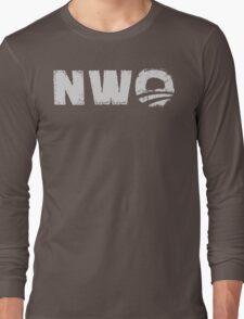 NWO - New World Order parody  Long Sleeve T-Shirt