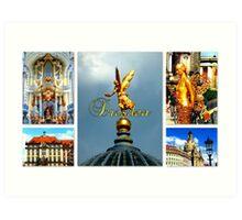 Dresden ~ City of Golden Splendour Art Print